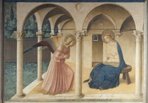 Surrender, Annunciation